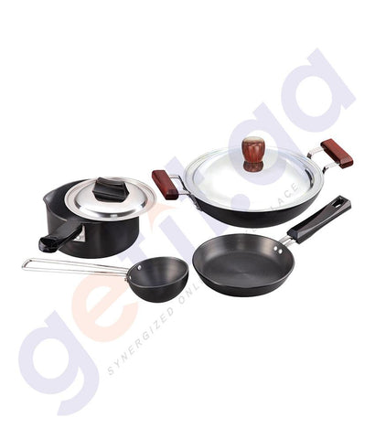 KITCHEN - HAWKINS COOKWARE 6 PIECE SET - LS8