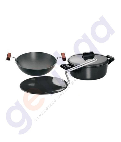 KITCHEN - HAWKINS COOKWARE SET-4 (CONTAINS L53,L18 & L62) LS5
