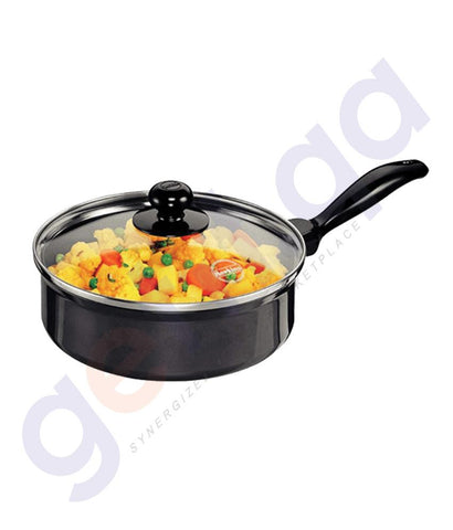 KITCHEN - HAWKINS CURRY PAN (SAUCE PAN) - 20 CM WITH GLASS LID Q62