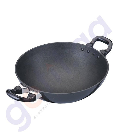 KITCHEN - HAWKINS DEEP-FRY PAN (KADHAI) - 26 CM WITH LID Q55