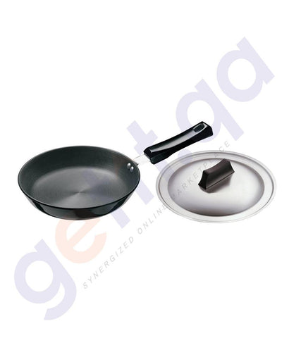 KITCHEN - HAWKINS FRYING PAN - 22 CM DIAMETER WITH LID - L06