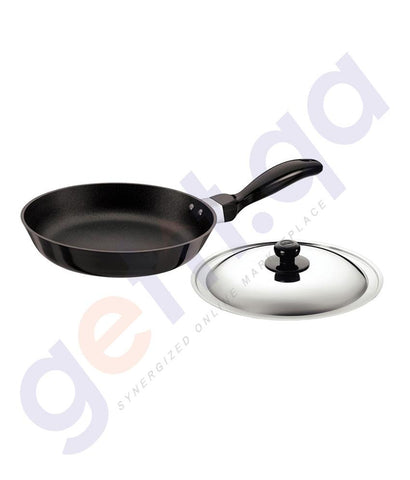 KITCHEN - HAWKINS FRYING PAN - 22 CM  WITH LID Q11