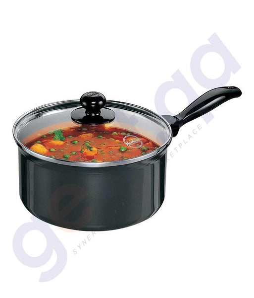 KITCHEN - HAWKINS SAUCE PAN - 20 CM WITH GLASS LID- Q82