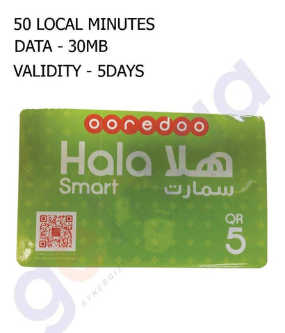 OOREDOO HALA SMART CARD 5
