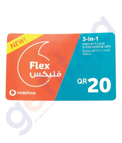 SHOP FOR VODAFONE FLEX 3IN1 20 ONLINE IN QATAR