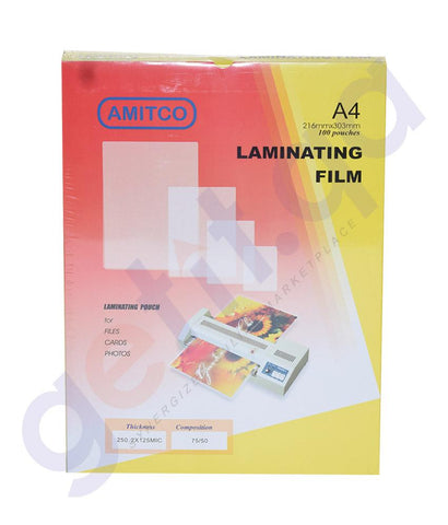 LAMINATION POUCHES - AMITCO LAMINATION POUCHES
