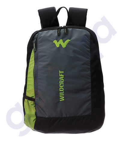 LAPTOP BAGS - WILDCRAFT 20LITRES LAPTOP BACKPACK -LB1 GREEN