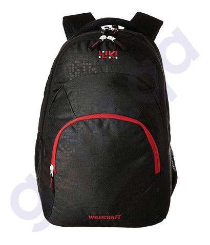 LAPTOP BAGS - WILDCRAFT 30LITRE LAPTOP BACKPACKS- LIH BLACK