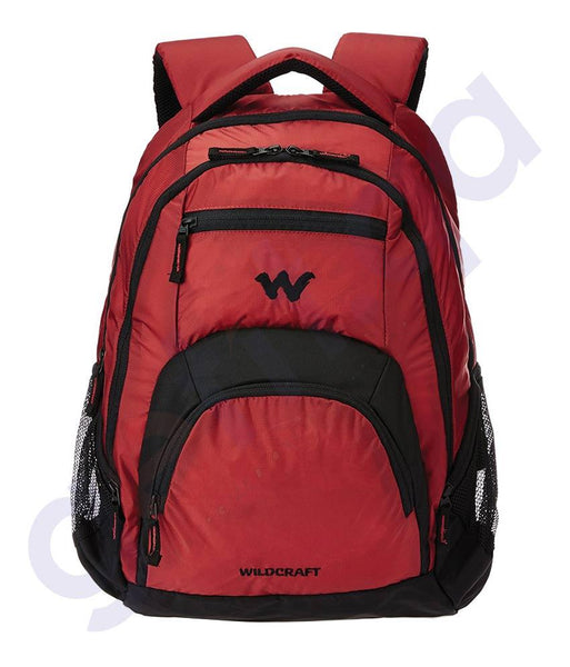 LAPTOP BAGS - WILDCRAFT 30LITRE LAPTOP BACKPACKS- LIH RED