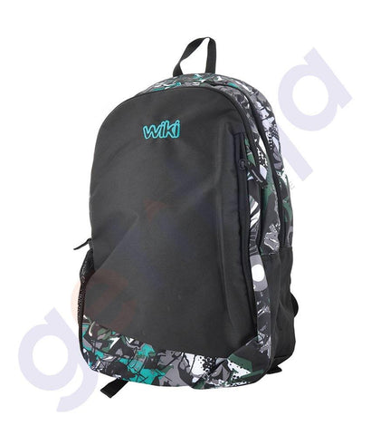 LAPTOP BAGS - WILDCRAFT BACKPACKS- HIPHOP GREEN