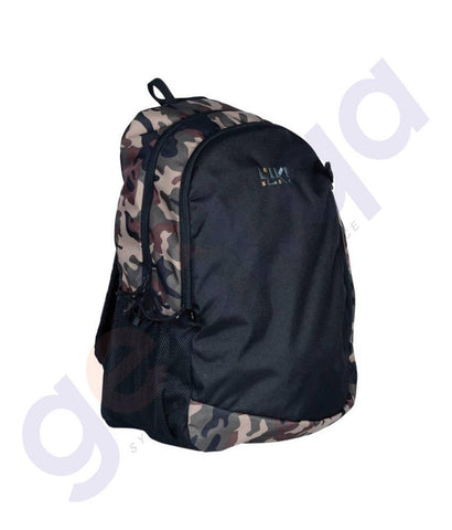 LAPTOP BAGS - WILDCRAFT BACKPACKS- LAVA CAMO BROWN