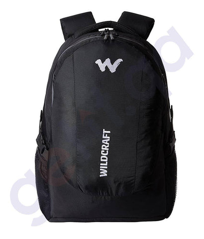LAPTOP BAGS - WILDCRAFT LAPTOP BACKPACKS- TRIDENT XL BLACK
