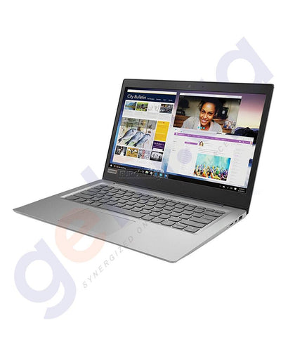 "LAPTOPS - LENOVO IDEAPAD 120S-14IAP GREY (N3450, 2.2GHz, 4GB RAM, 64 GB EMMC, 14.0"", WIN10) - 81A500EBAX"