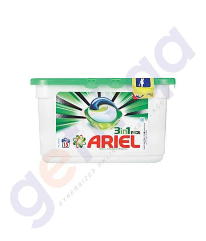 Laundry Detergents - ARIEL 15 PIECES POWER CAPSULES REGULAR 27GM