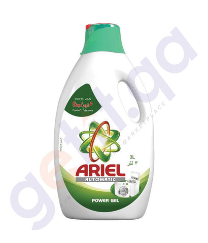 Laundry Detergents - ARIEL AUTOMATIC POWER GEL LAUNDRY DETERGENT ORIGINAL