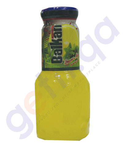 BALKAN LEMON WITH MINT JUICE 250 ML