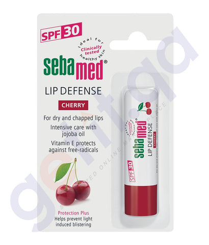 LIP DEFENCE - SEBAMED LIP STICK DEFENCE STICK CHERRY