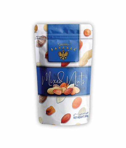 Request Quote Bahanez Mixed Nuts 300gm Online in Doha Qatar