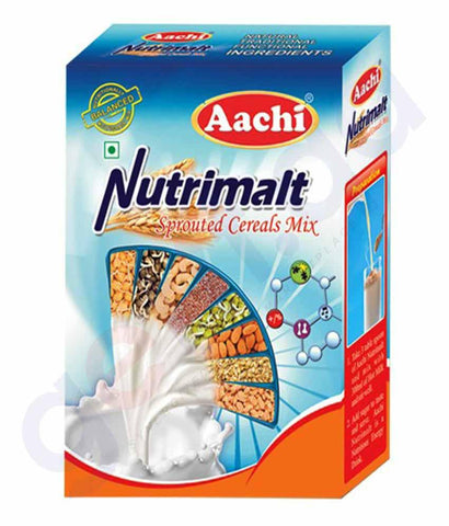MALTED DRINK - AACHI NUTRIMALT 500GM