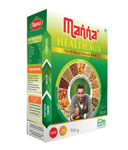 MALTED DRINK - MANNA HEALTH MIX 500GM