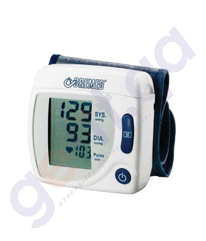 MEDICAL - BREMED FULL AUTOMATIC WRIST TYPE BP MONITOR BD555