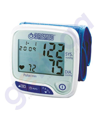 MEDICAL - BREMED FULL AUTOMATIC WRIST TYPE BP MONITOR BD8100