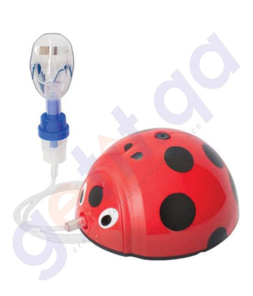 MEDICAL - BREMED LADYBUG COMPACT COMPRESSOR NEBULIZER BD5008