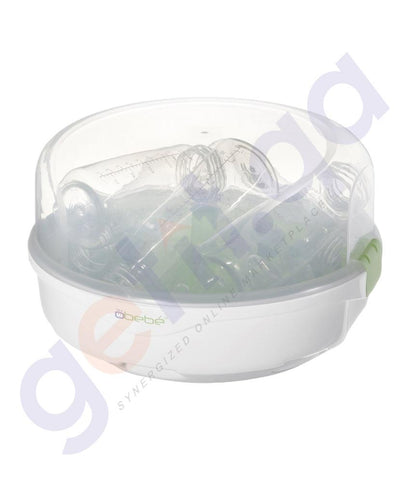 MEDICAL - BREMED MICROWAVE BOTTLE STERILIZER - 5 BOTTLE BD3240