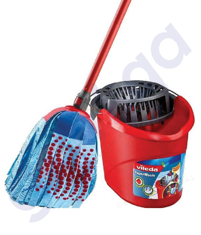 BUY VILEDA MOP +  BUCKET & SQUEEZER IN QATAR ONLINE AT GETIT.QA