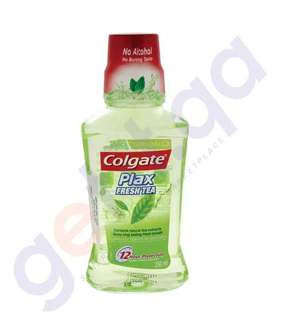 MOUTHWASH - COLGATE PLAX 250ML FRESH TEA MOUTHWASH