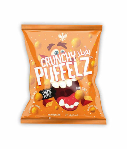Request Quote Crunchy Puffelz Cheese Puffs 20gm Doha Qatar
