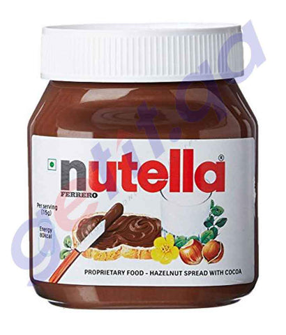 NUTELLA - NUTELLA HAZELNUT SPREAD WITH COCOA
