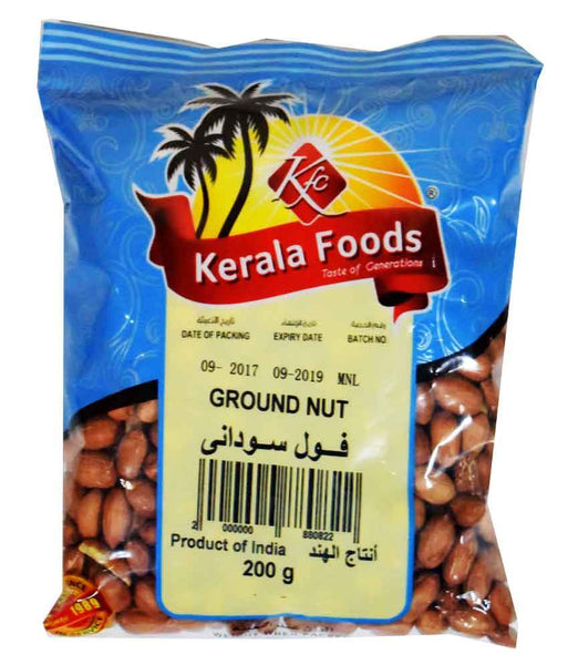 NUTS - GROUND NUTS - 200 GMS BY KERALA FOODS