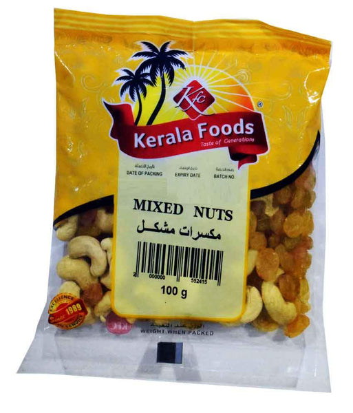 NUTS - MIXED NUT - 100 GMS BY KERALA FOODS