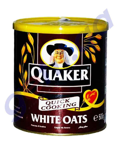 OATS - QUAKER WHITE OATS TIN-500GM
