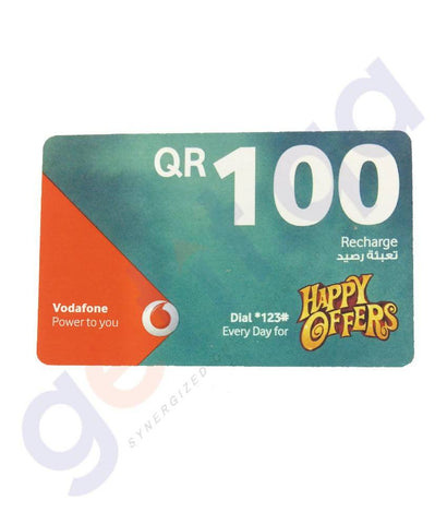 SHOP FOR VODAFONE RECHARGE VOCHER 100 ONLINE IN QATAR