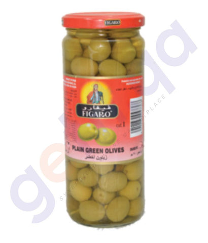 OLIVES - FIGARO PLAIN GREEN OLIVE -200GM