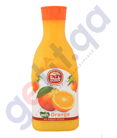 Buy Baladna Chilled Juice Orange Price Online Doha Qatar