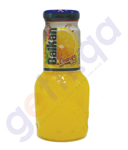 BALKAN ORANGE JUICE 250 ML