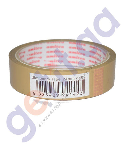 OTHER OFFICE ACCESORIES - BROWN TAPE BY AMITCO