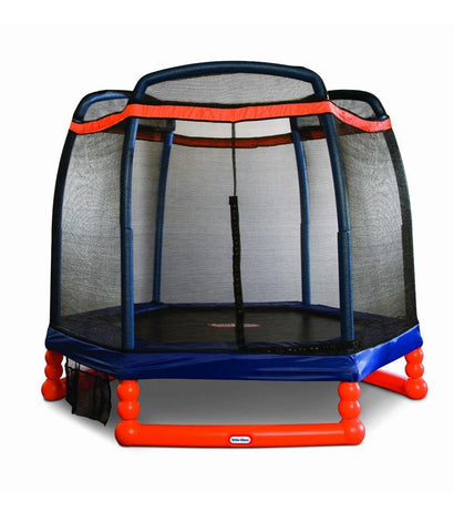 "Outdoor Toys - Little Tikes 7"" Feet Trampoline 622311 ( 3 - 10 Years )"