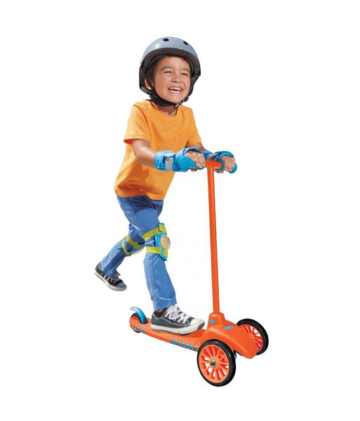 Outdoor Toys - Little Tikes Lean To Turn Scooter - Orange/Blue 640124M (2- 4 Years )