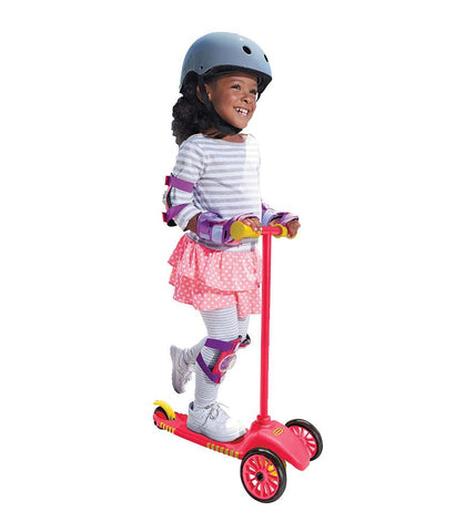 Outdoor Toys - Little Tikes Lean To Turn Scooter - Red/ Yellow 640094M ( 2- 4 Years )