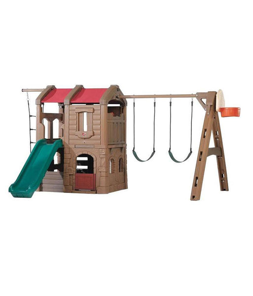 Outdoor Toys - Step2 Adventure Lodge Play Center 801300 – (3– 8 Years)