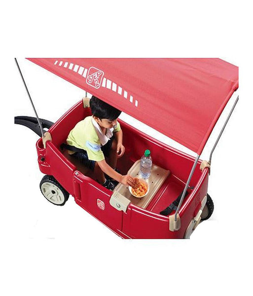 Outdoor Toys - Step2 All Around Canopy Wagon 822700 (1.5 + Years)