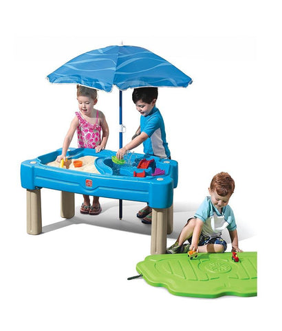 Outdoor Toys - Step2 Cascading Cove Sand And Water Table 850900 ( 1.5 + Years)