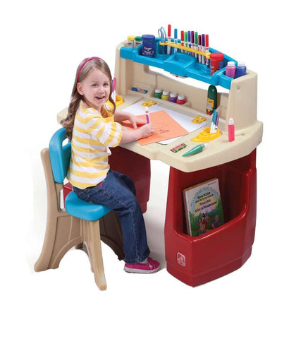 Outdoor Toys - Step2 Deluxe Art Master Desk With Chair 702500 ( 3+ Years)