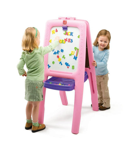Outdoor Toys - Step2 Easel For Two Set - Pink 799900 ( 3+ Years)