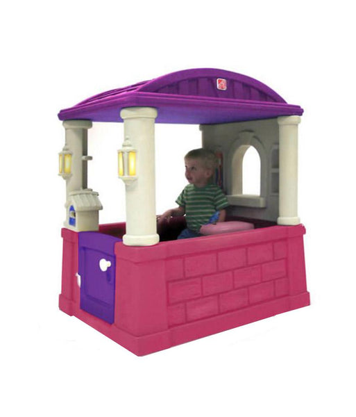Outdoor Toys - Step2 Four Seasons Playhouse- Pink 744800 (1.5+ Years)