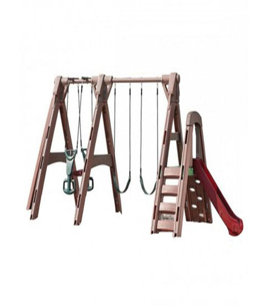 Outdoor Toys - Step2 Naturally Playful TimberLast Swing Set 846400- (3-8 Years)